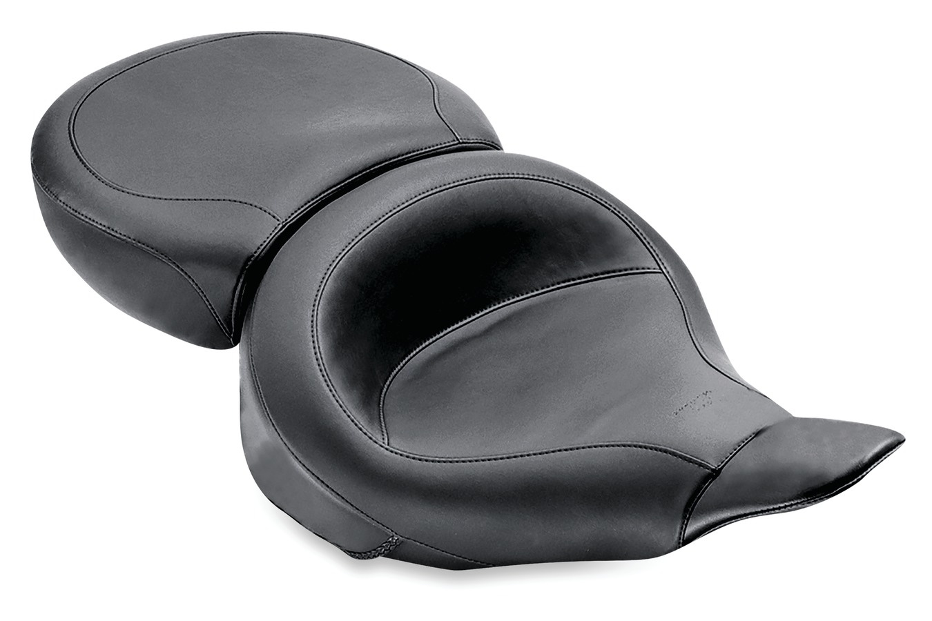 Wide Touring One-Piece Seat for Harley-Davidson Electra Glide & Tour Glide 1980-