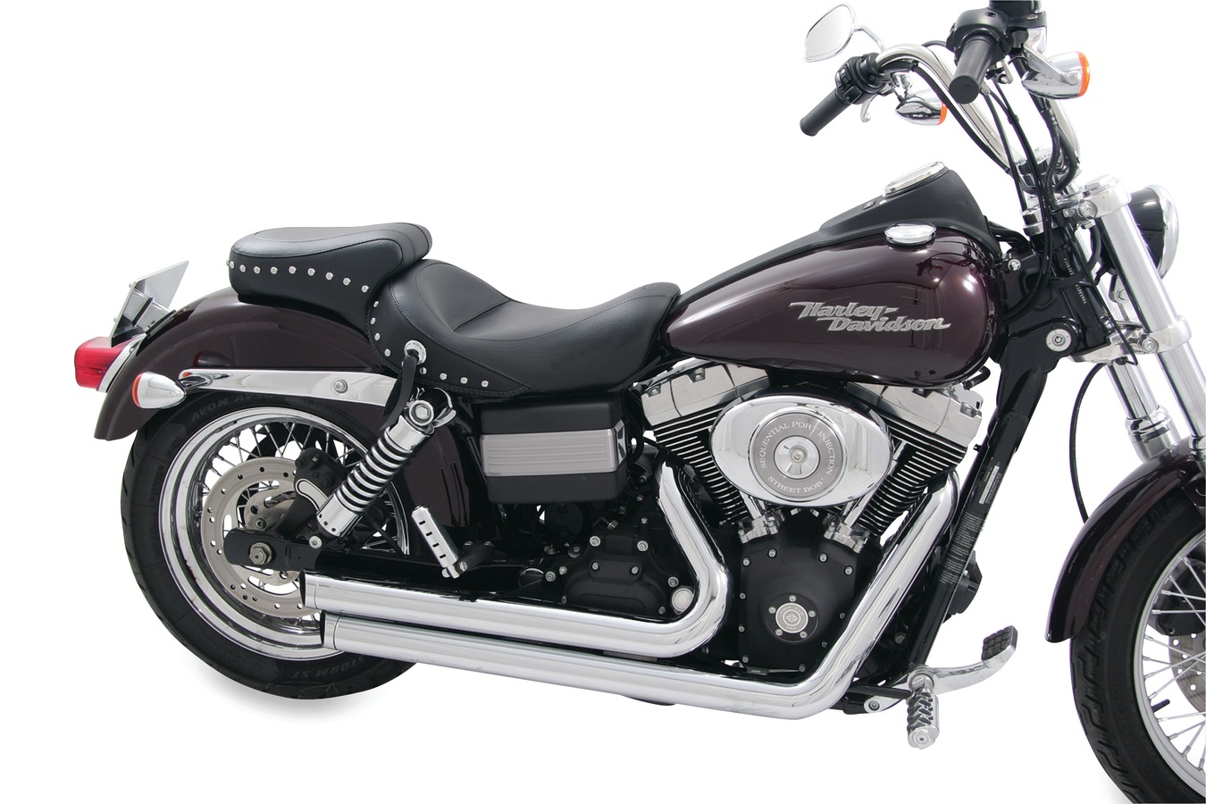 Standard Touring One-Piece Seat for Harley-Davidson Dyna 2006-