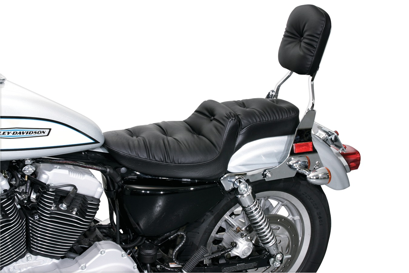 Duke One-Piece Seat for Harley-Davidson Sportster 2004-