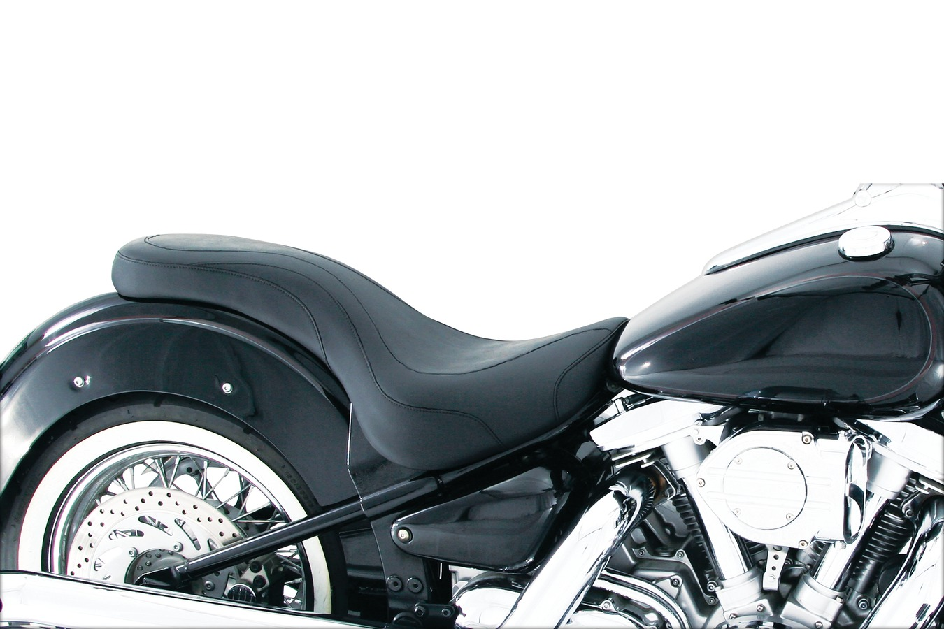 Victory Motorcycle Parts >> Mustang One Piece Daytripper Low Profile 2 Up Seat Saddle Victory