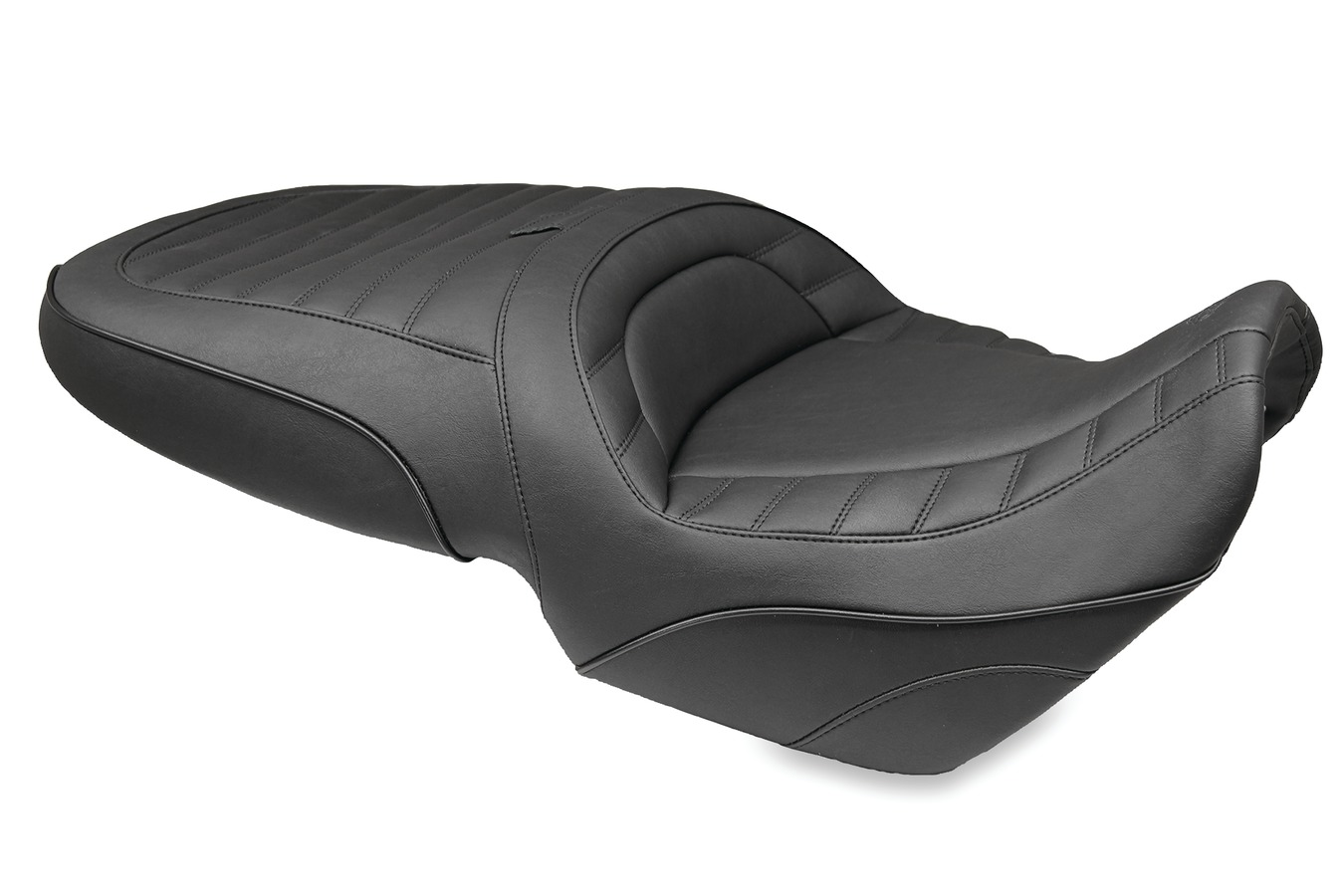 Standard Touring One-Piece Seat, Original, Black
