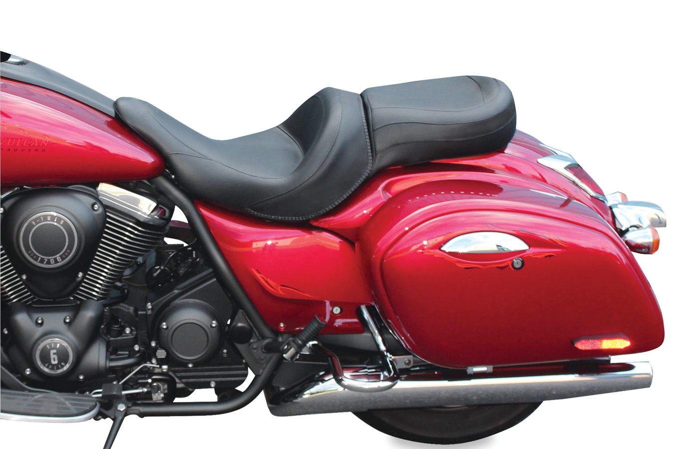 Standard Touring One-Piece Seat for Kawasaki Vulcan 1700 Vaquero 2011-
