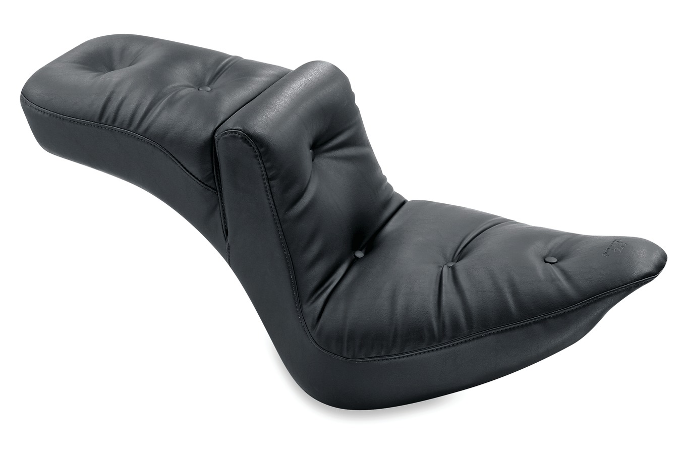 Duke One-Piece Seat, Original Regal, Black