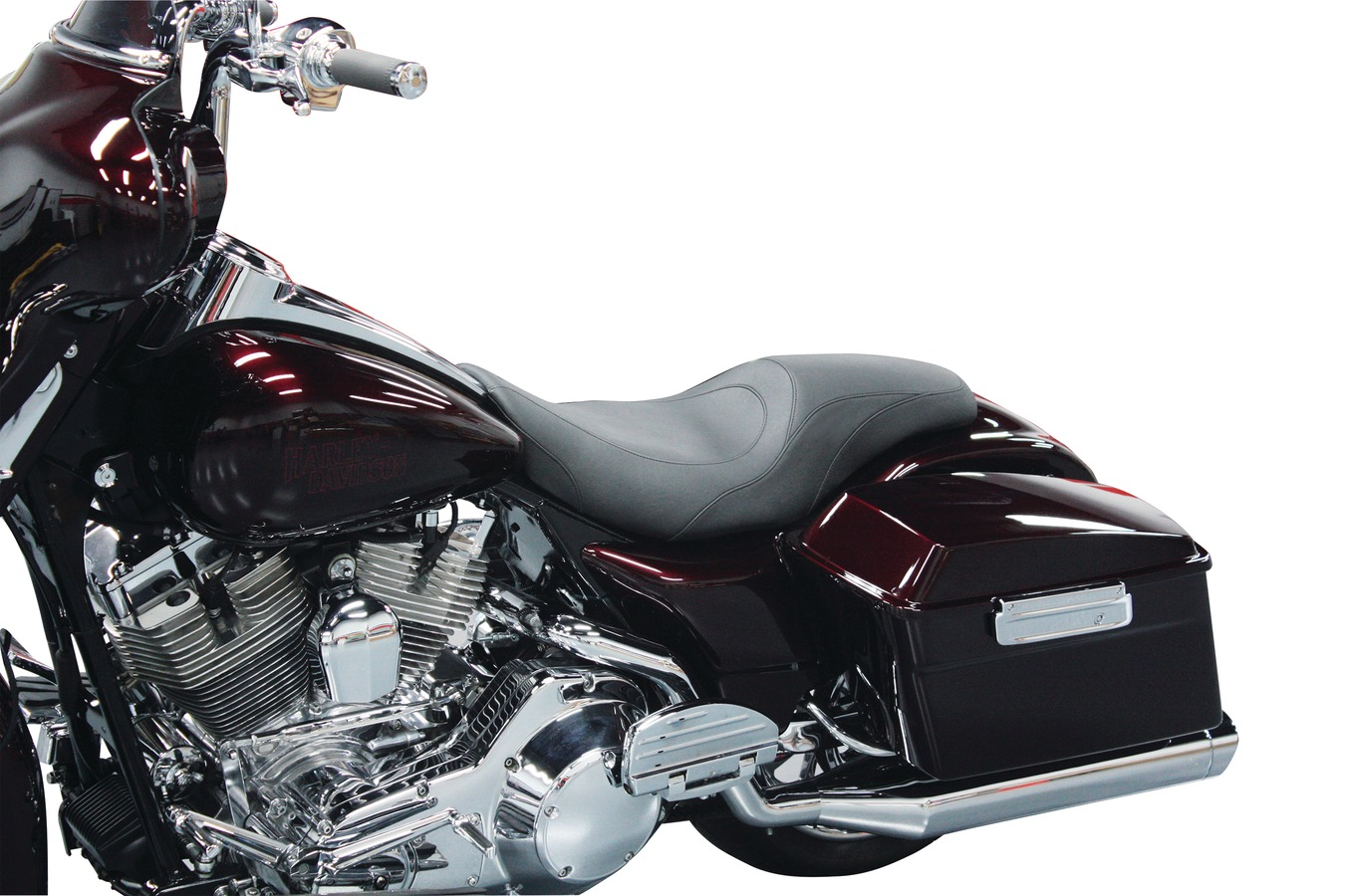 Tripper Fastback™ One-Piece Seat for Harley-Davidson Electra Glide & Road Glide 1997-