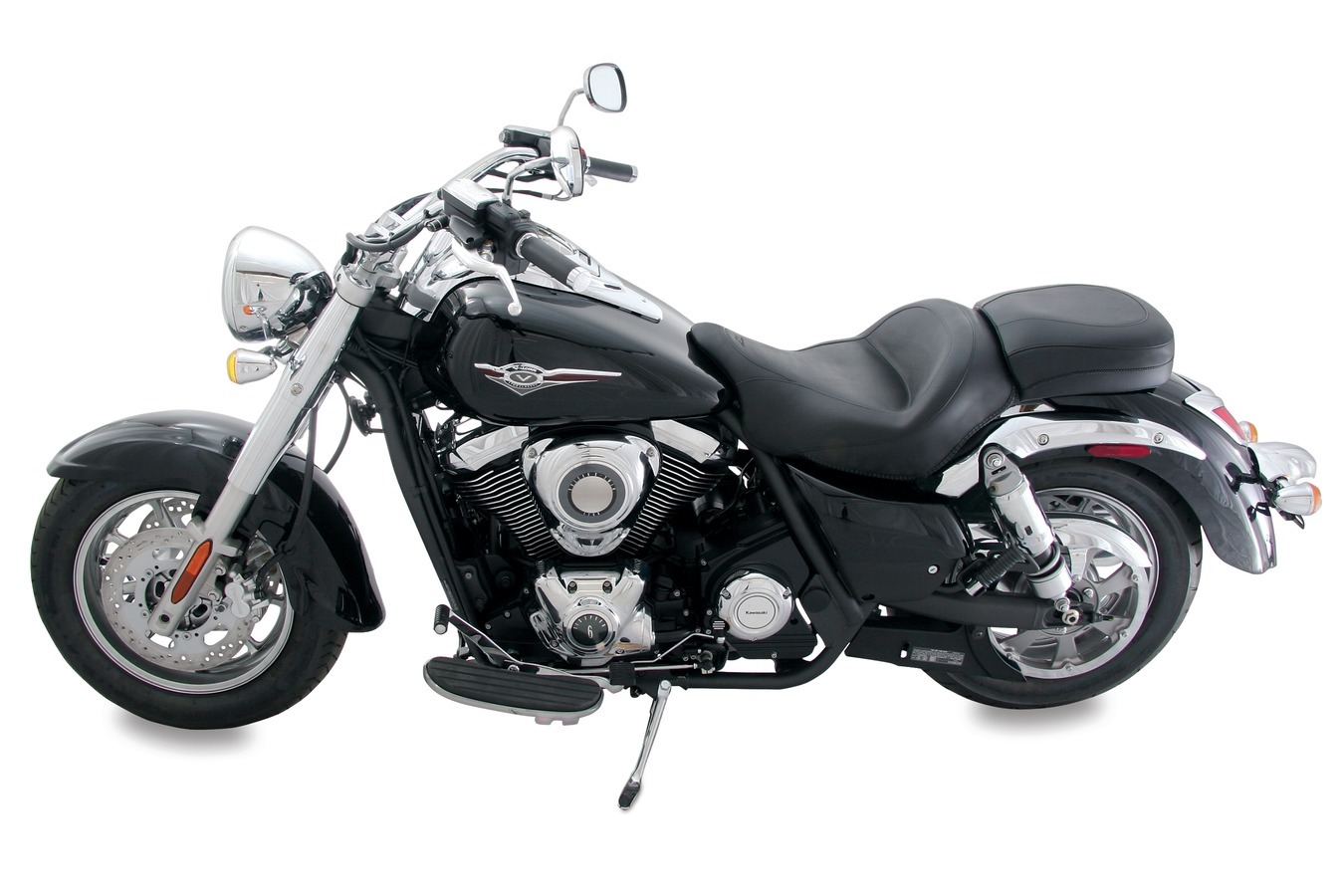 Standard Touring One-Piece Seat for Kawasaki Vulcan 1700 Classic 2009-