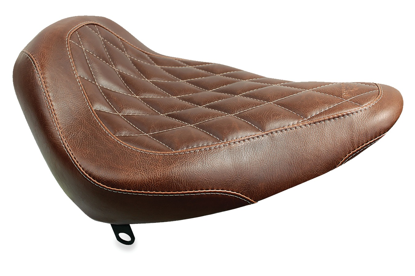 Wide Tripper™ Solo Seat, Diamond Stitched, Distressed Brown