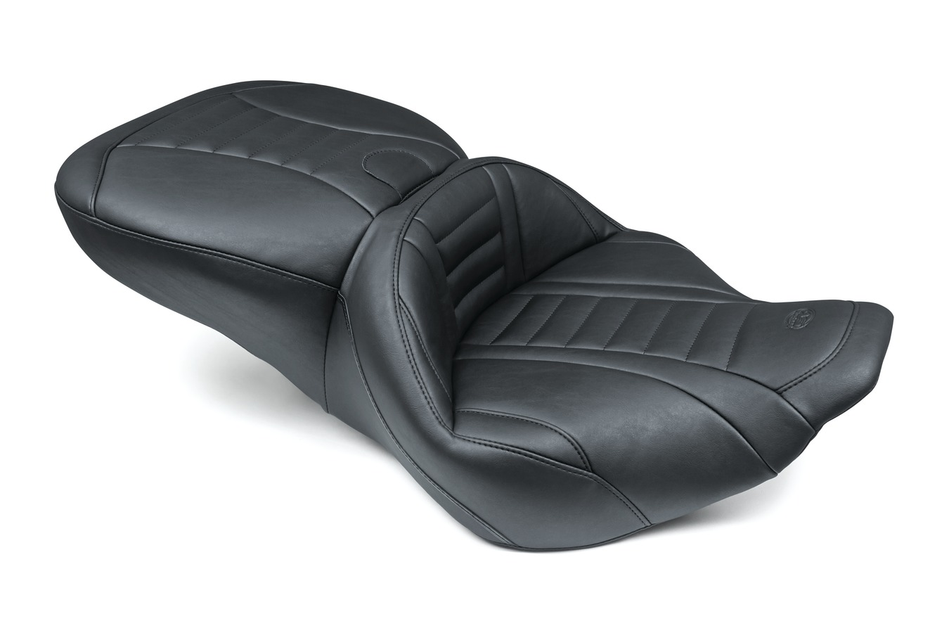 Super Touring Deluxe One-Piece Seat, Deluxe, Black