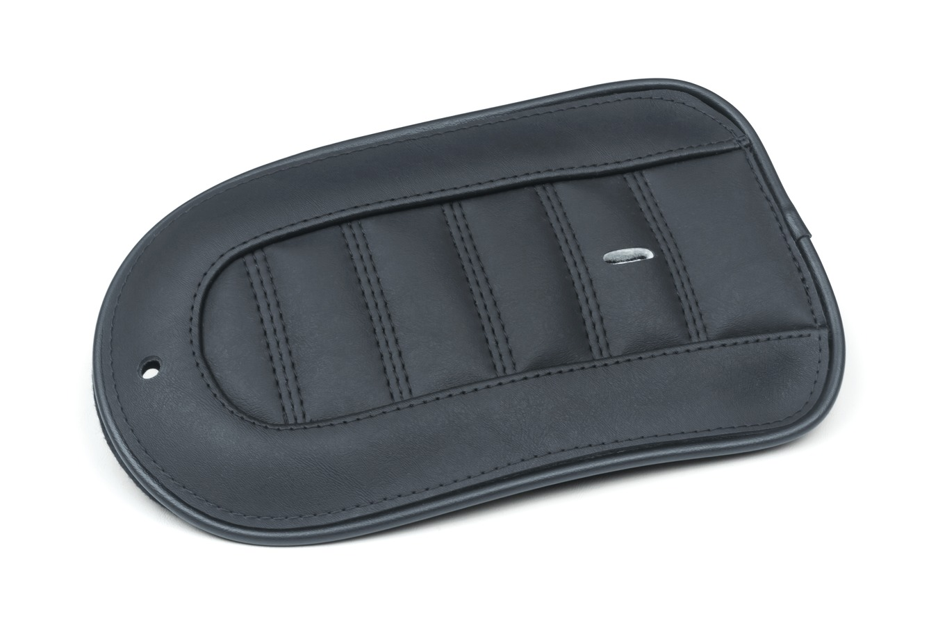 Revere Journey Stripe Fender Bib with Black Stitching, Black