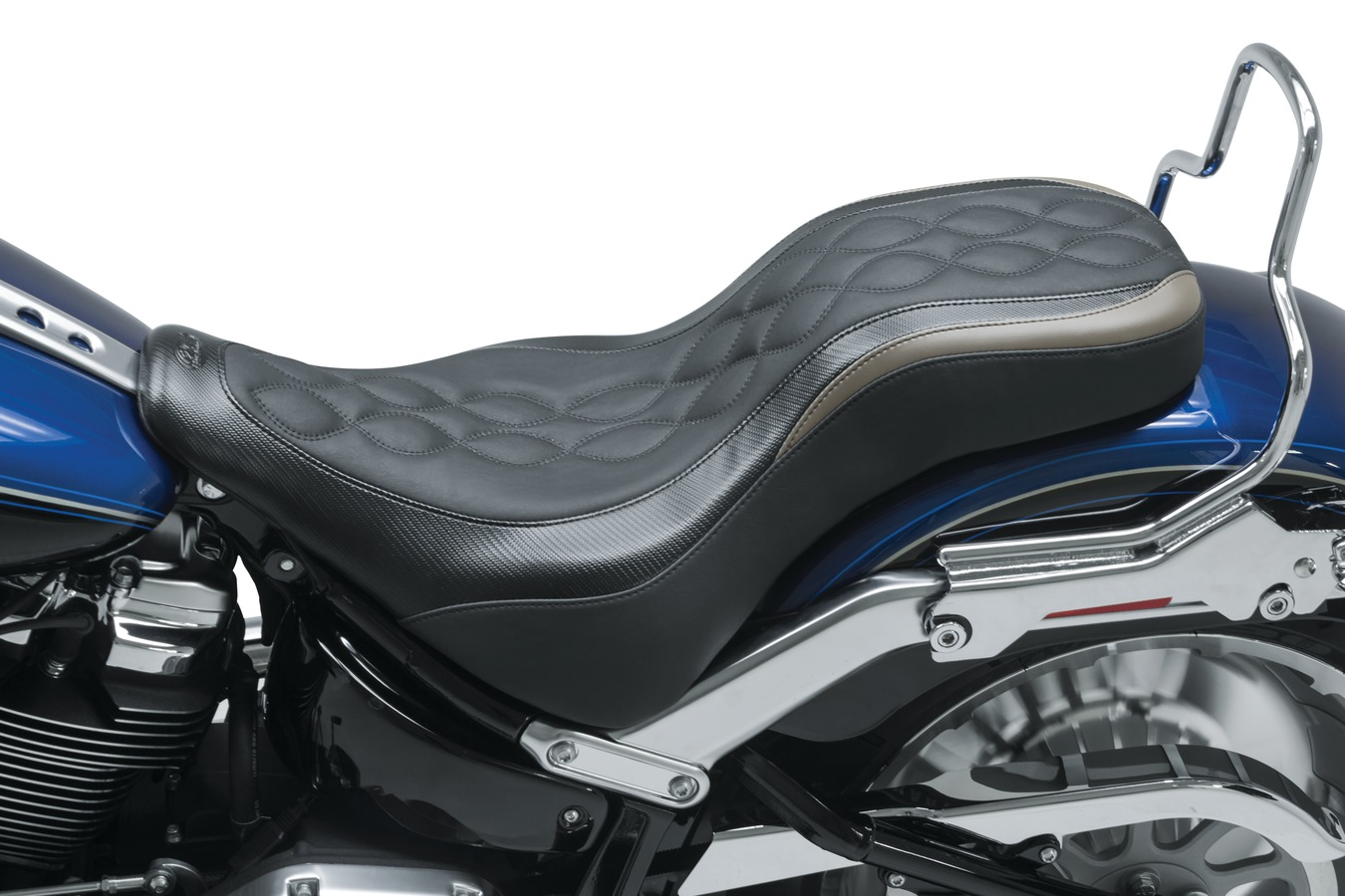 DayTripper™ One-Piece Seat, Double Helix, Black