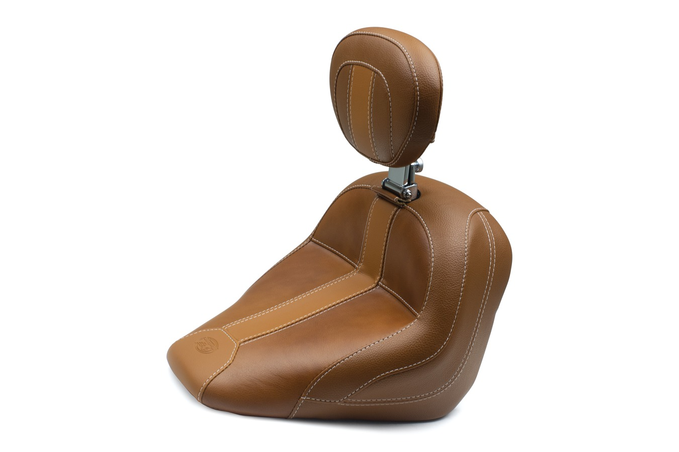 Standard Touring Solo Seat with Driver Backrest for Indian Scout 2015-