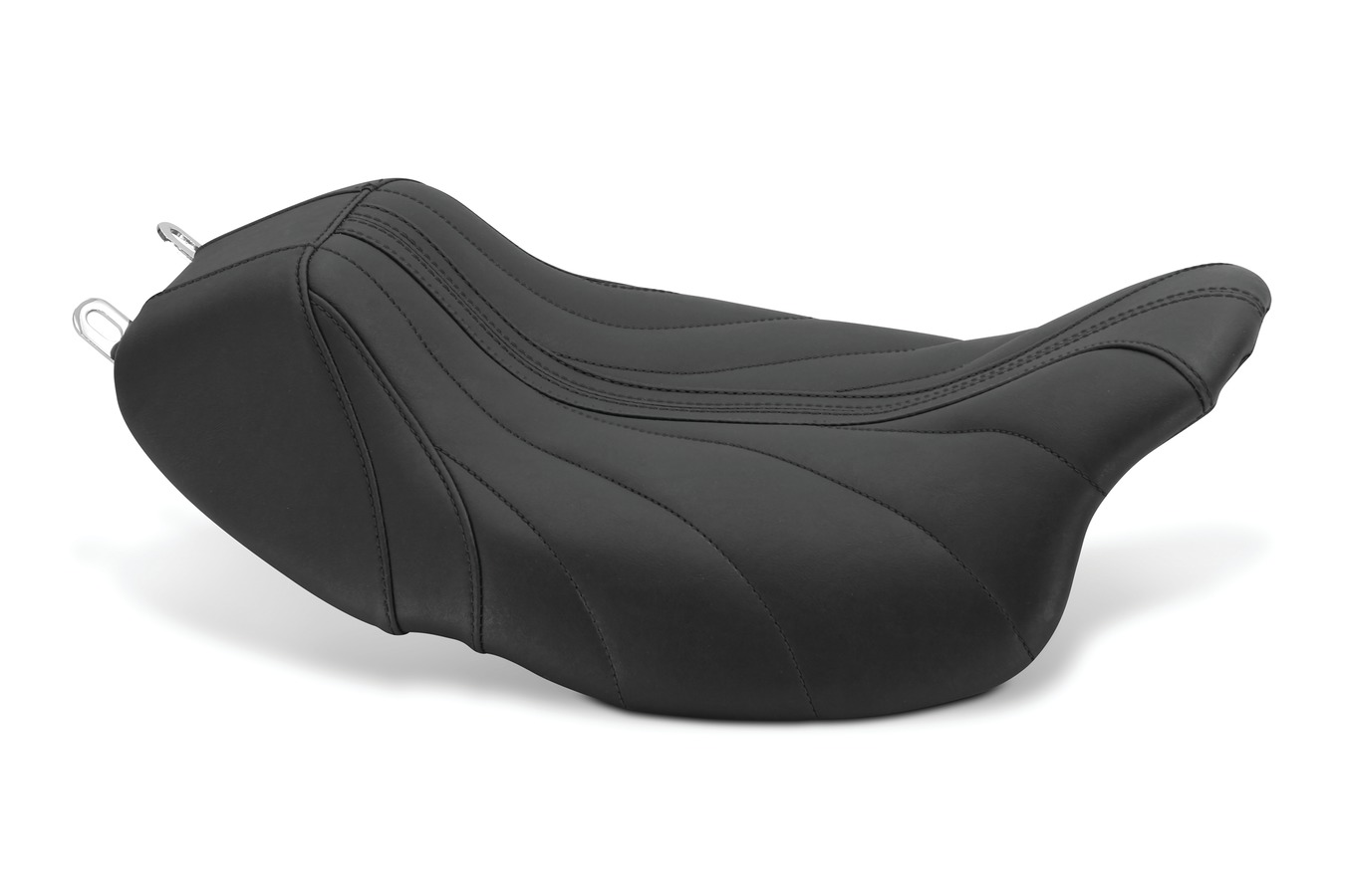 Revere Journey Gravity Solo Seat with Black Stitching, Black