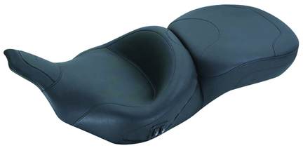 Standard Touring with Heat One-Piece Seat, Original, Black