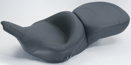 Wide Touring One-Piece Seat, Original, Black