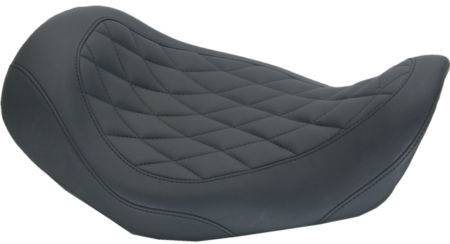 Wide Tripper™ Solo Seat, Diamond Stitched, Black