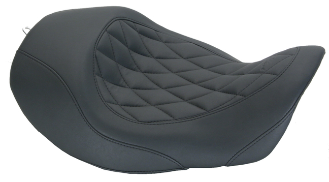 Wide Tripper™ Forward Solo Seat for Harley-Davidson Dyna 2006-