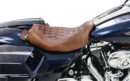 Road Glide Mustang Wide Tripper Seat Replacement for Harley-Davidson Electra Glide Standard Road King /& Street Glide 08-18
