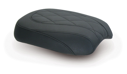 Passenger Seat for H-D Tripper™, Diamond Stitched, Black, Width: 8.5""
