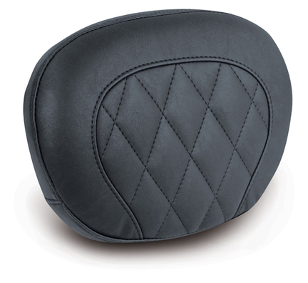 "Sissy Bar Pad, Diamond Stitched, Black, 9"" x 12"""