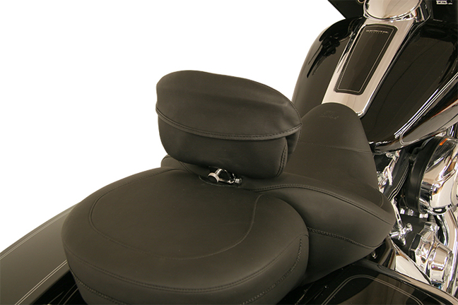 Driver Backrest Pouch Cover for Mustang Sport Driver Backrests, Original, Black