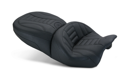 Standard Touring One-Piece Seat, Deluxe, Black