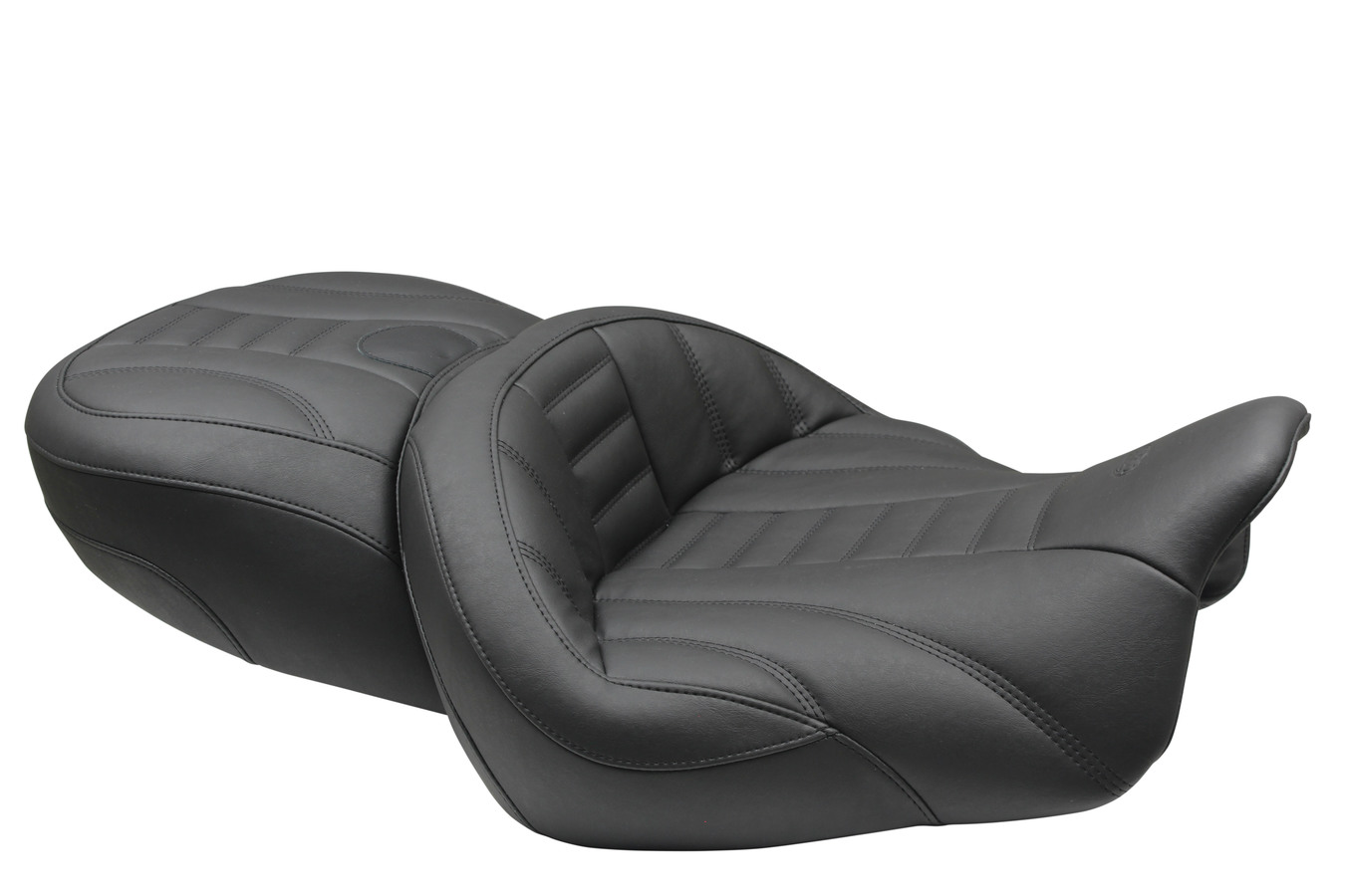 Super Touring One-Piece Seat, Deluxe, Black