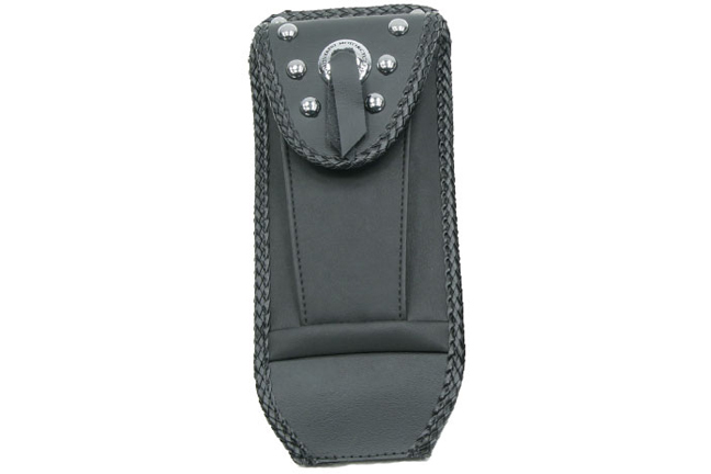 Tank Bib, Studded with Pouch with Concho, Black